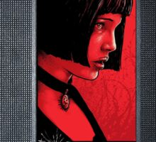 Mathilda choker VHS case Sticker