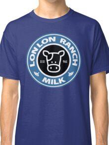 Legend of Zelda: Ocarina of Time Lon Lon Ranch Milk Classic T-Shirt