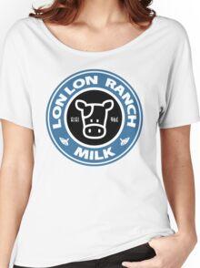 Legend of Zelda: Ocarina of Time Lon Lon Ranch Milk Women's Relaxed Fit T-Shirt