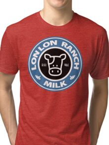 Legend of Zelda: Ocarina of Time Lon Lon Ranch Milk Tri-blend T-Shirt
