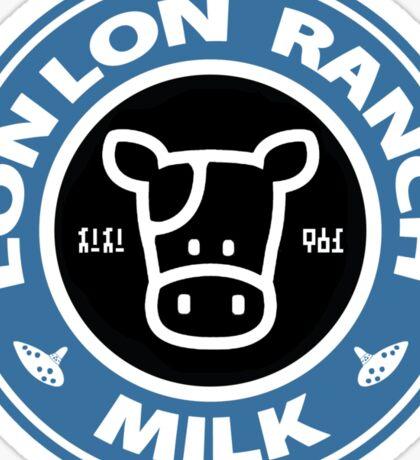 Legend of Zelda: Ocarina of Time Lon Lon Ranch Milk Sticker