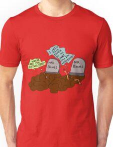 death do us part Unisex T-Shirt