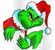 GRINCH FOR CHRISTMAS SLEEP Poster