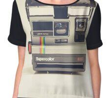 Polaroid Chiffon Top
