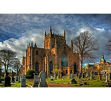 Church and Tower Photographic Print