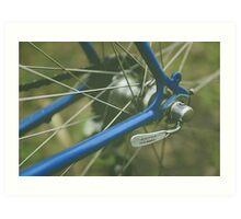 Road Bike Art Print