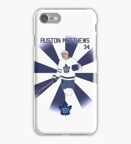 Auston Matthews Toronto Maple Leafs iPhone Case/Skin