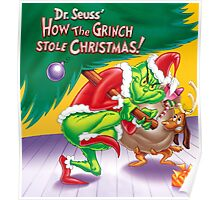 GRINCH FOR CHRISTMAS TREE Poster