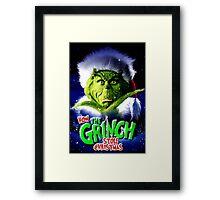 GRINCH FOR CHRISTMAS GREEN Framed Print