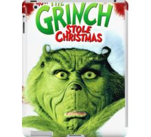 GRINCH FOR CHRISTMAS FACE iPad Case/Skin