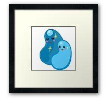 Cute Beans! Framed Print