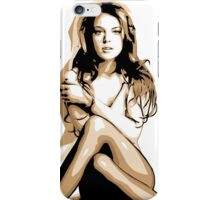 Lindsay Lohan - Vector Art iPhone Case/Skin