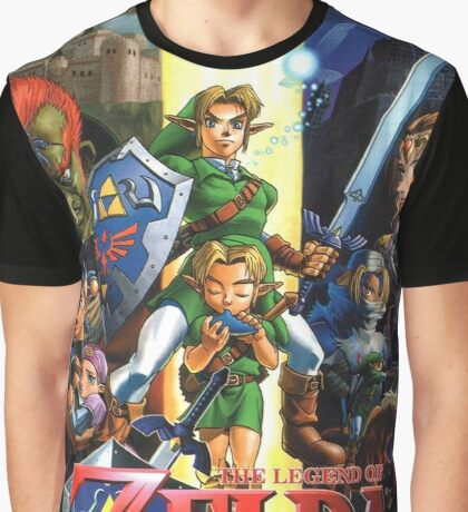 LoZ Ocarina of Time Graphic T-Shirt