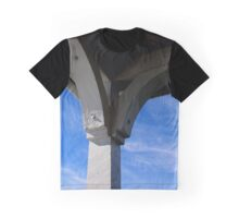 White Gazebo Roof Detail Under Blue Sky | Northport, New York  Graphic T-Shirt