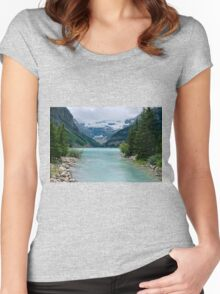 Softly You Whisper. . .  Women's Fitted Scoop T-Shirt