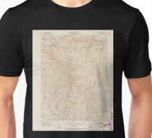 USGS TOPO Map California CA Blue Nose Mtn 302445 1951 24000 geo Unisex T-Shirt