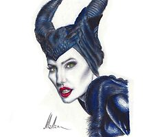 Maleficent - Angelina Jolie #3 by JHallam