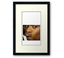 Funny Meme Framed Print