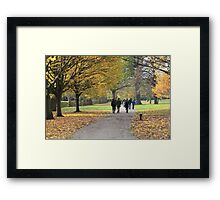 Regents Park Framed Print