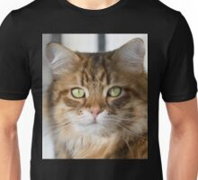 Siberian cat portrait Unisex T-Shirt