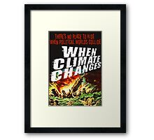 No Place to Hide Framed Print