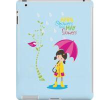 April Showers iPad Case/Skin