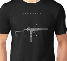 Hand drawn Silenced Mini Uzi Unisex T-Shirt