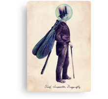 Inspector Dragonfly Canvas Print