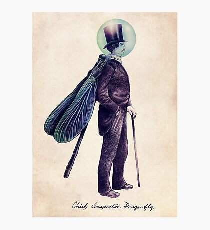 Inspector Dragonfly Photographic Print