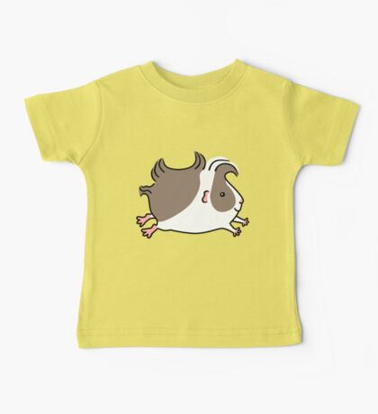 Leaping Guinea-pig ... Grey and White Baby Tee