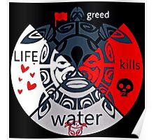 # NoDAPL Water Is Life,MNI WICONI Poster