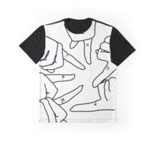 Finger Matching Tattoos PLL Merch  Graphic T-Shirt
