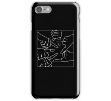 Finger Matching Tattoos PLL Merch (Black) iPhone Case/Skin