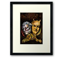 Portrait of WILLIAM BLAKE Framed Print