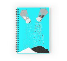 Salt & Pepper Spiral Notebook