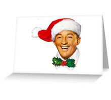 Bing Crosby christmas Greeting Card