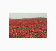 Poppies and Hardy's Monument Unisex T-Shirt