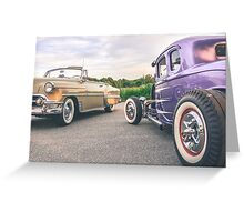 American Icons Greeting Card