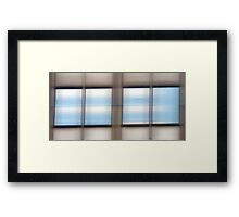 Window Panes #2 Framed Print