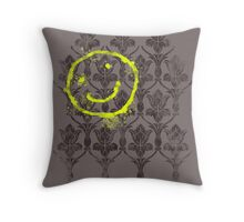 221B wallpaper Throw Pillow