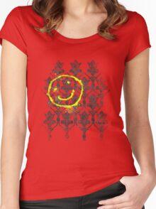 221B wallpaper Women's Fitted Scoop T-Shirt
