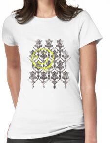 221B wallpaper Womens Fitted T-Shirt