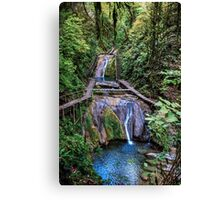 Valley of 33 waterfalls Canvas Print