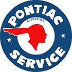Pontiac Service vintage sign by htrdesigns