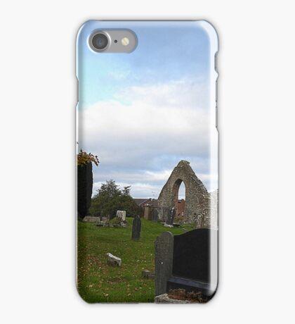 Autumn In The Graveyard iPhone Case/Skin