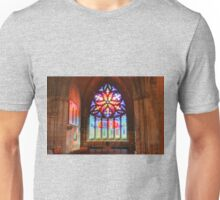 Pentecost Stained Glass Unisex T-Shirt