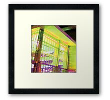 Purplow Framed Print