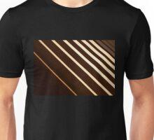 Retro stripe pattern background Unisex T-Shirt
