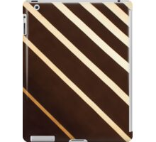 Retro stripe pattern background iPad Case/Skin