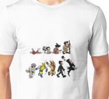 Marvel Wolverine Life Evolution Unisex T-Shirt